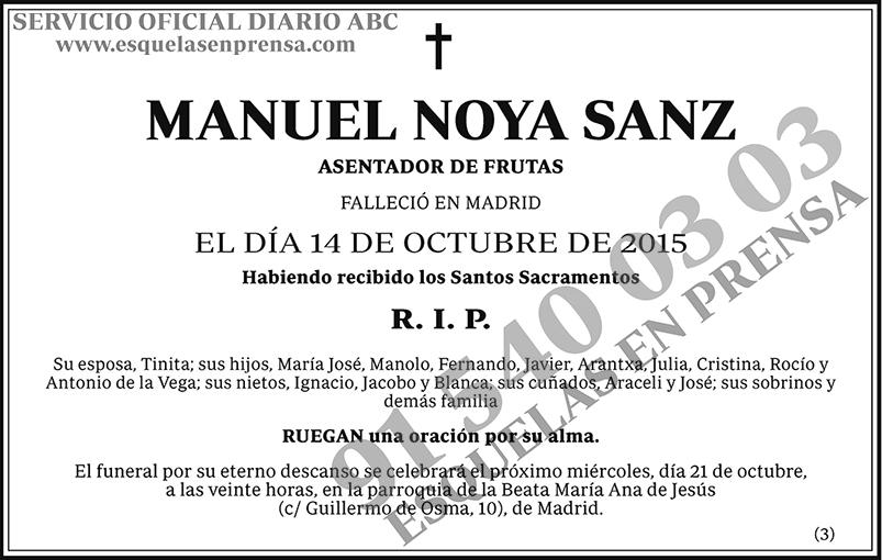 Manuel Noya Sanz